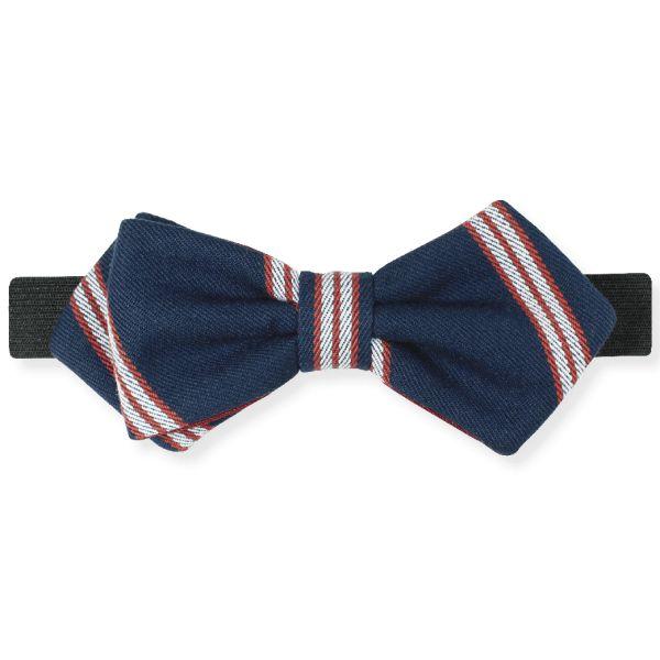 Gravata Diamond Listrada Azul – Dois Maridos – Gravatas Borboletas, Suspensórios e informações de moda.