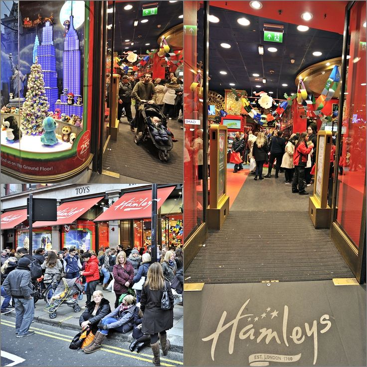"""Hamleys is the oldest toy shop in the world and one of the world's best-known retailers of toys. Founded by William Hamley as """"Noah's Ark"""" in High Holborn, London, in 1760, it moved to its current site on Regent Street in 1881"""