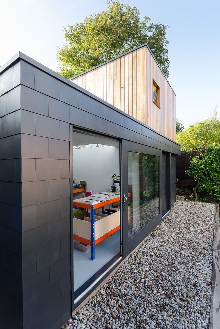 Thrutone slates used on Garden Studio in Bristol