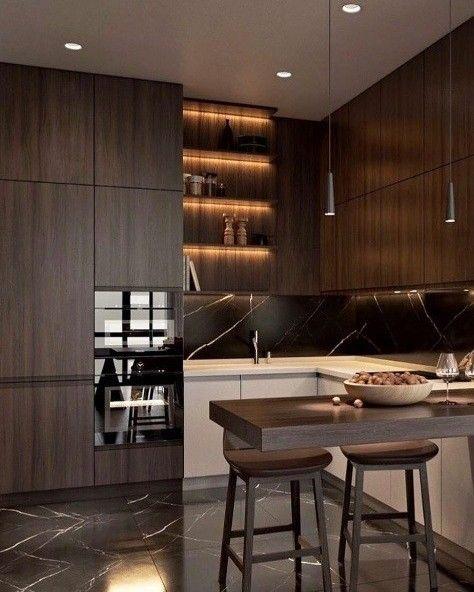 Se inspire neste projeto de cozinha, ao mesmo tempo lindo e funcional!