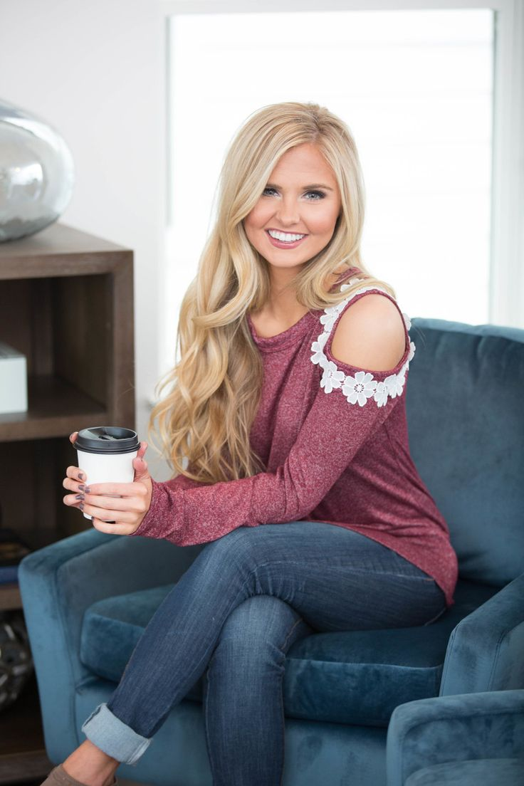 The Pink Lily - Any Day Now Cold Shoulder Blouse Wine, $39.00 (https://pinklily.com/any-day-now-cold-shoulder-blouse-wine/)