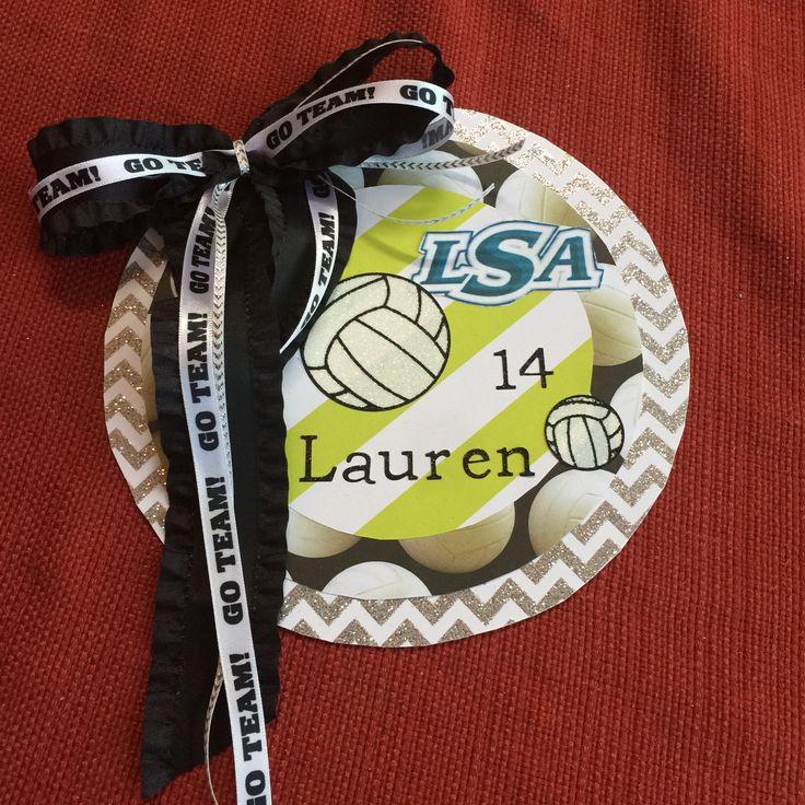 Volleyball Locker Magnet                                                                                                                                                      More