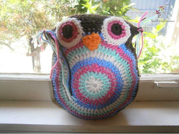 Owl Pillow - Handmade to order    #crochet #owl #pillow #toy