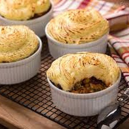 Hearty Lentil and Mushroom Shepherd's Pie