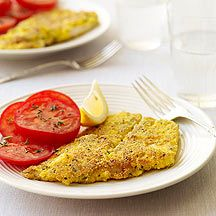 Weight Watchers Pan Fried Fish. Made mine with Tilapia, it was fantastic! Only 5 points!