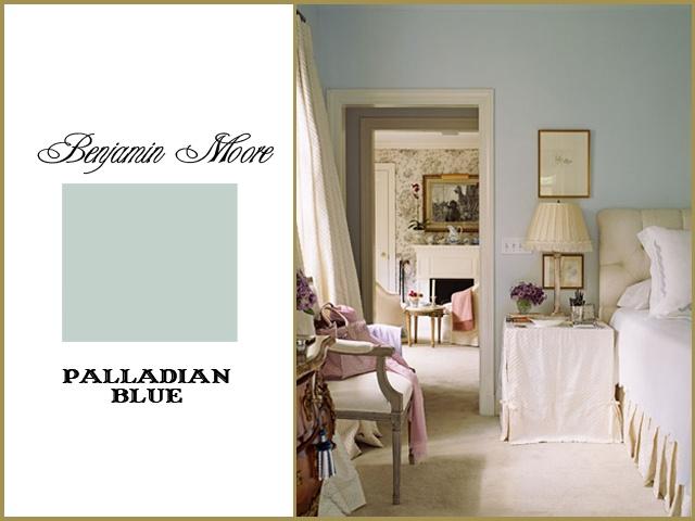 Benjamin Moore Palladian Blue | Paint colors | Pinterest