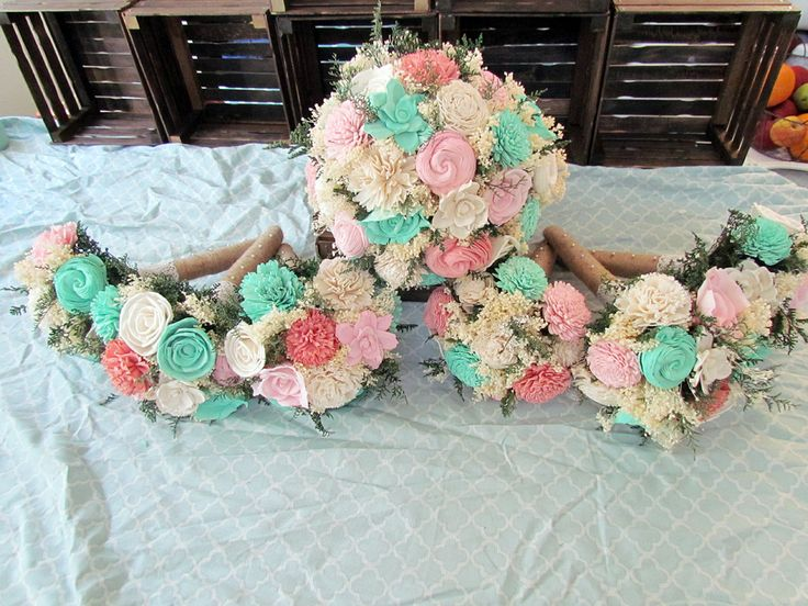 DIY Sola Flower Bouquets Finished!! - Weddingbee