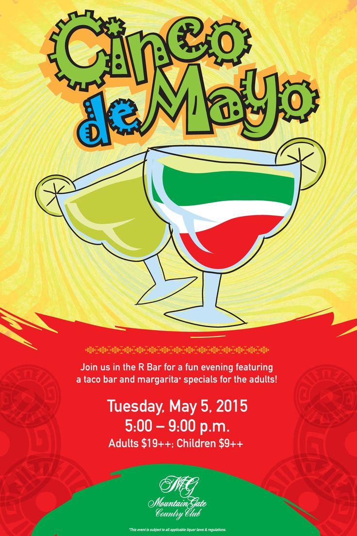 Cinco de Mayo flyer poster template   Cinco de Mayo ...