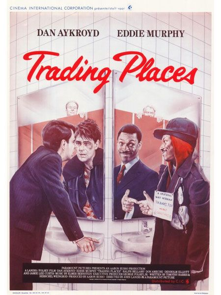 trading places: Movie Posters, Awesome Movies Books T V, Movies My Favorites, Movies Tv, Films Movies, Favorite Movies, 80 S Films, Favorite Film