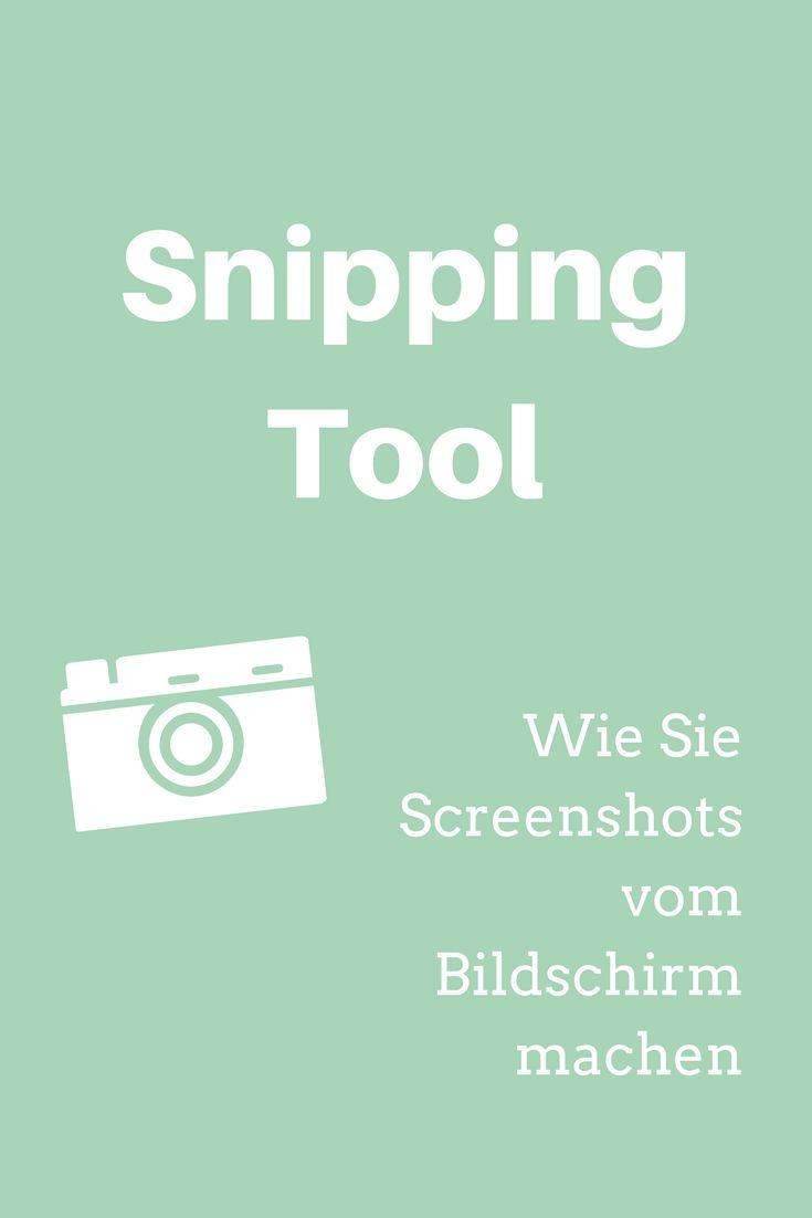 Bilder für Schritt-für-Schritt-Anleitungen, Screenshots von Fehlermeldungen für Ihre IT - mit dem Snipping Tool erstellen Sie schnell und unkompliziert Screenshots  #büro #sekretariat #pc #computer #word