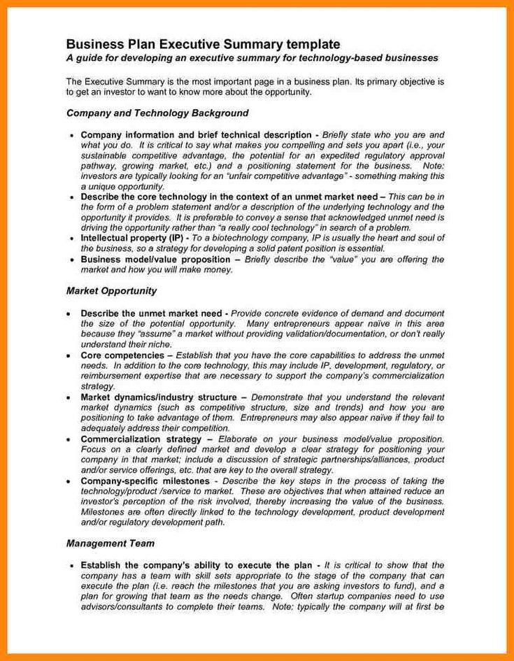 Yli 25 ainutlaatuista ideaa Pinterestissä Executive summary example - executive summary template microsoft word