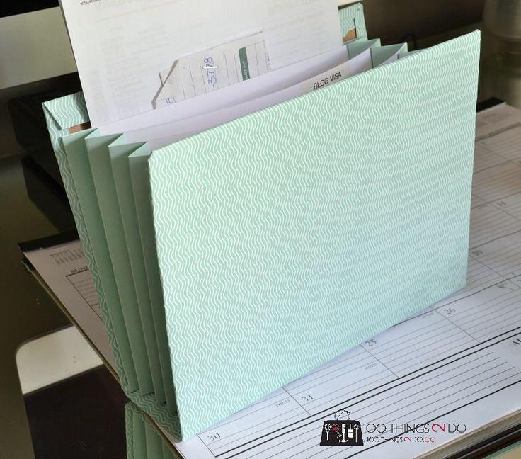 diy accordion folder - Accordion Folder