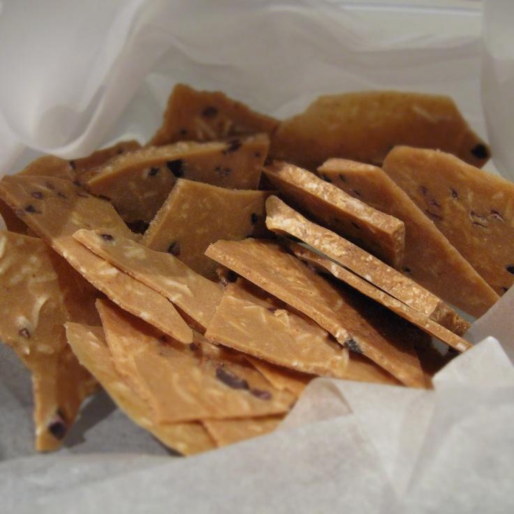 Almond Butter Bark (recipe from Sarah Wilson's IQS Cookbook)