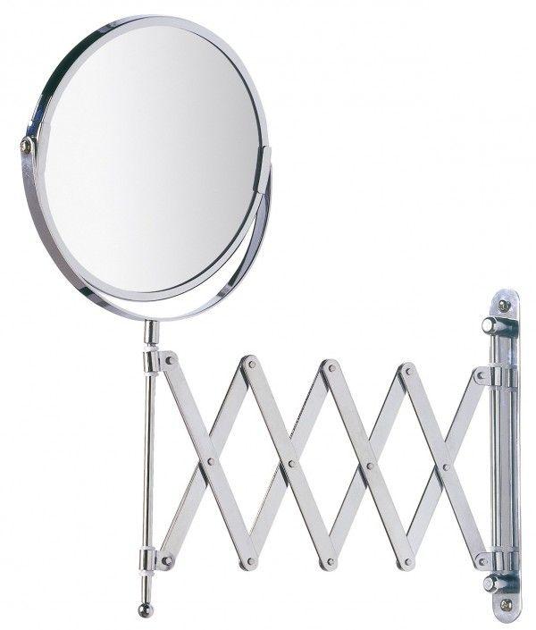 Miroir grossissant télescopique pour la salle de bain.  Comment choisir votre miroir pour la salle de bain ?  Découvrez LE guide ultime pour trouver le miroir parfait pour votre salle de bain >> http://www.homelisty.com/miroir-salle-de-bain-le-guide-ultime/