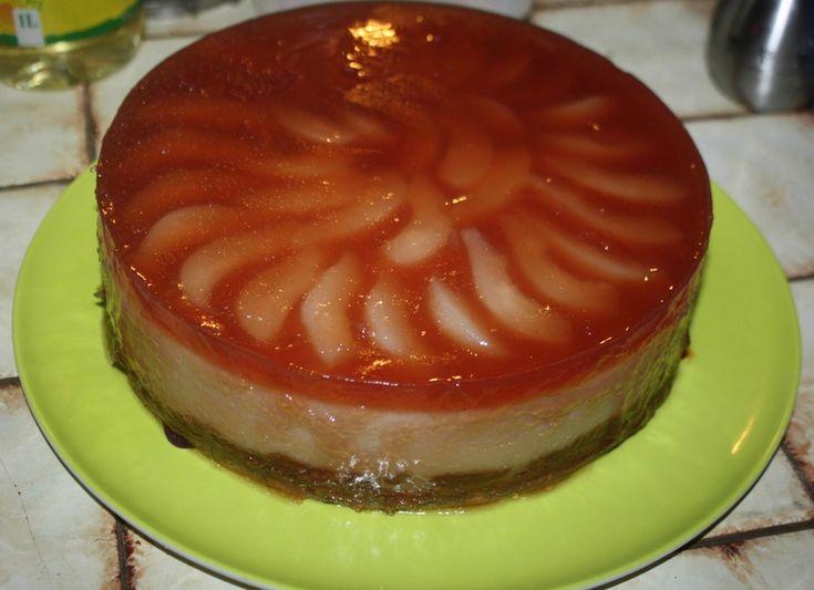bavarois aux poires