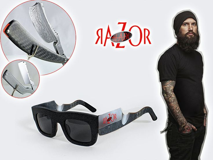 Razor Blade Sun Glasses