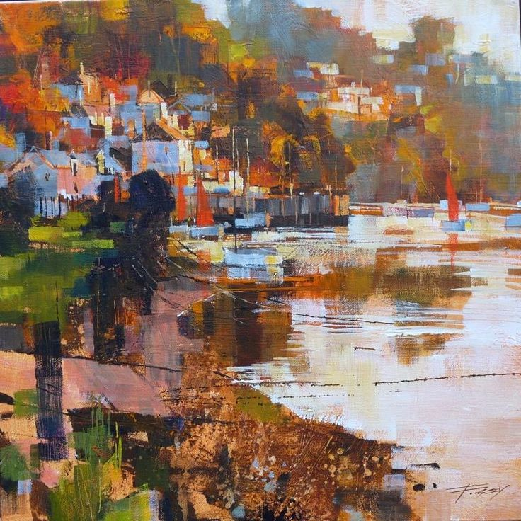 September evening, Noss Mayo by CHRIS FORSEY