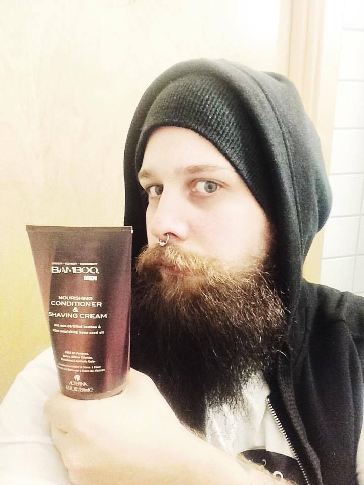 Skägget blir nästan FÖR mjukt… | Testpiloterna  Recension av Bamboo Men Conditioner & Shaving Cream.
