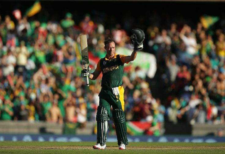 South Africa beat West Indies by 257 runs - the highest margin victory in cricket world cup. AB de Villiers scored the fastest 150 runs in ODI. Read more...