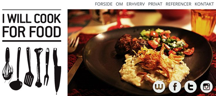 Forside - I Will Cook For Food