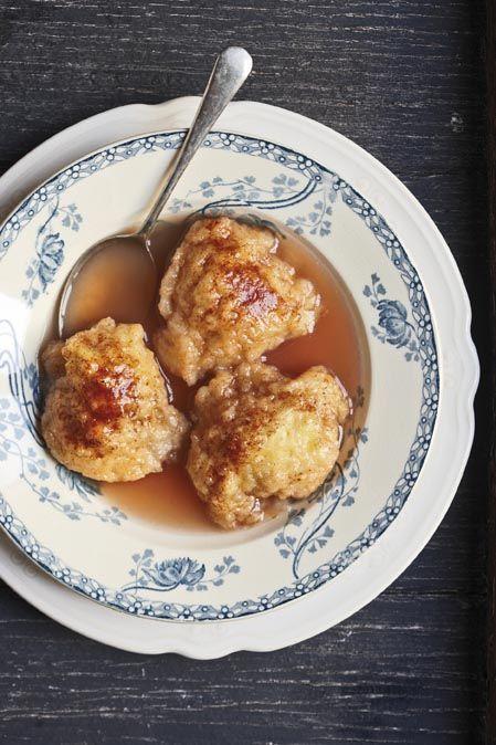 *Sweet Cinnamon Dumplings - South African Desert.*  - Tannie Poppie se souskluitjies   SARIE