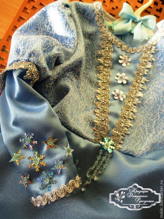 Одежда для девочек, ручной работы. Нарядное платье для девочки Полина. Традиции Домашнего Рукоделия. Интернет-магазин Ярмарка Мастеров.