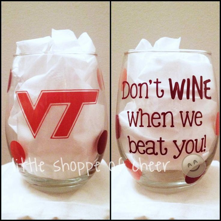 Stemless Don't WINE when we beat you Wine Glass. Best wine glass ever!