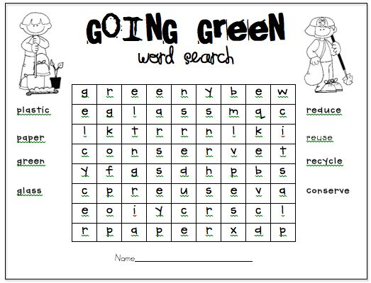 All Worksheets » Reduce Reuse Recycle Worksheets - Printable ...