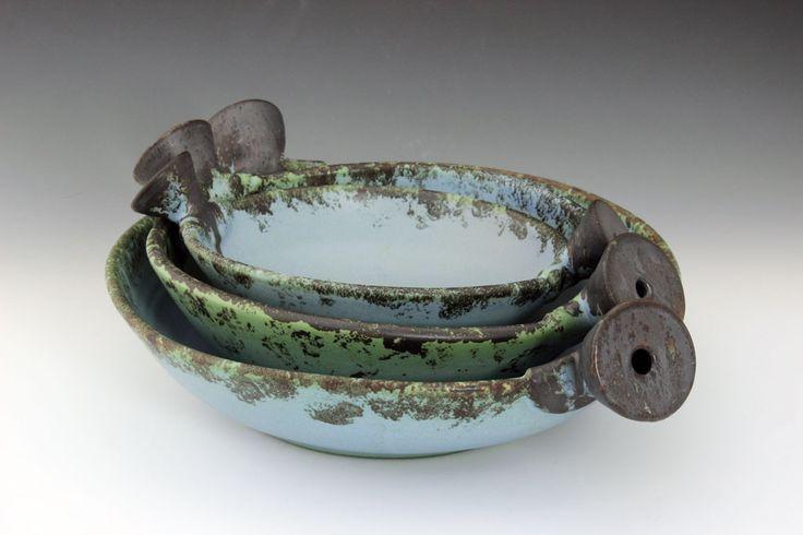 Magda Bethani Ceramics - Two handle Bowls