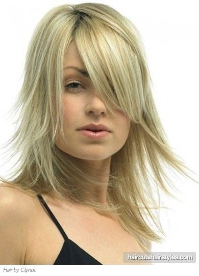 Medium Layered Hair Cuts | Medium Soft Layered Hair