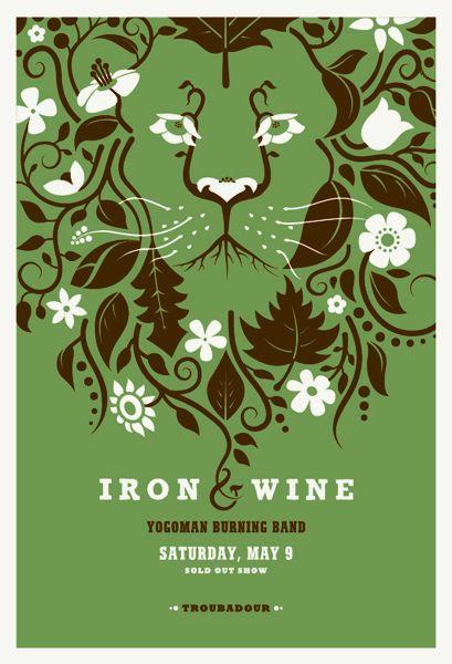 Iron and Wine.