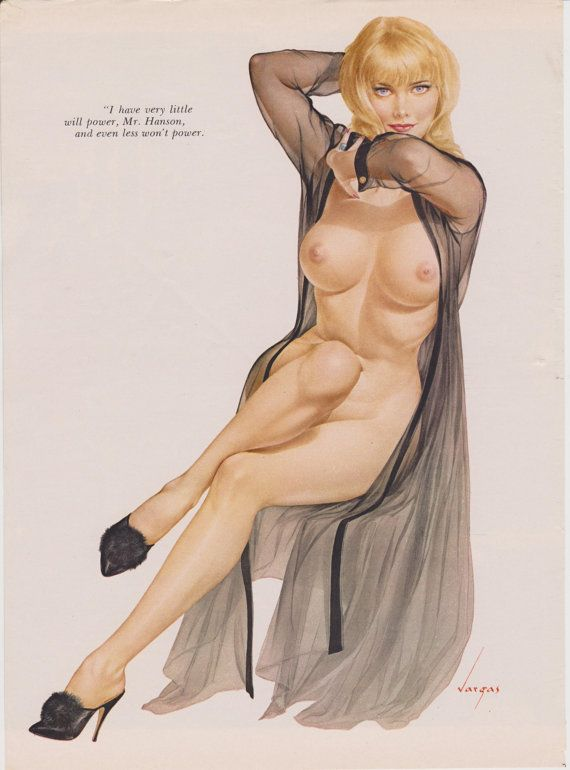 Nude pinups from playboy