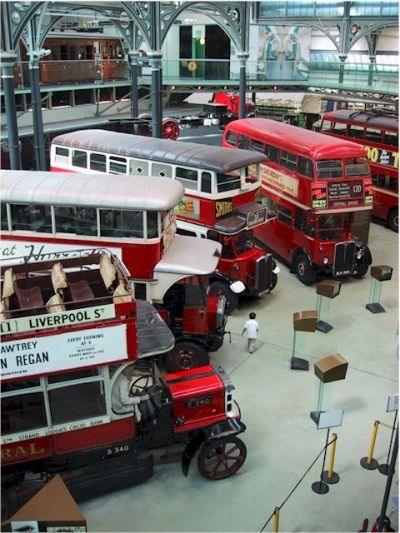 London Transport Museum in Covent Garden Piazza, London WC2E | CWR