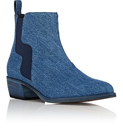 Pierre Hardy Gipsy Denim Chelsea Boots - Boots - 505549593