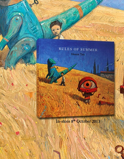 We will post all things Rules of Summer by Shaun Tan here!