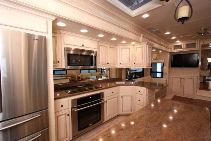 Interior Images Of Luxury Travel Trailer