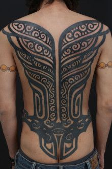 GENKO TATTOO/FINISHED COVER-UP 'TRIVAL' |GENKO