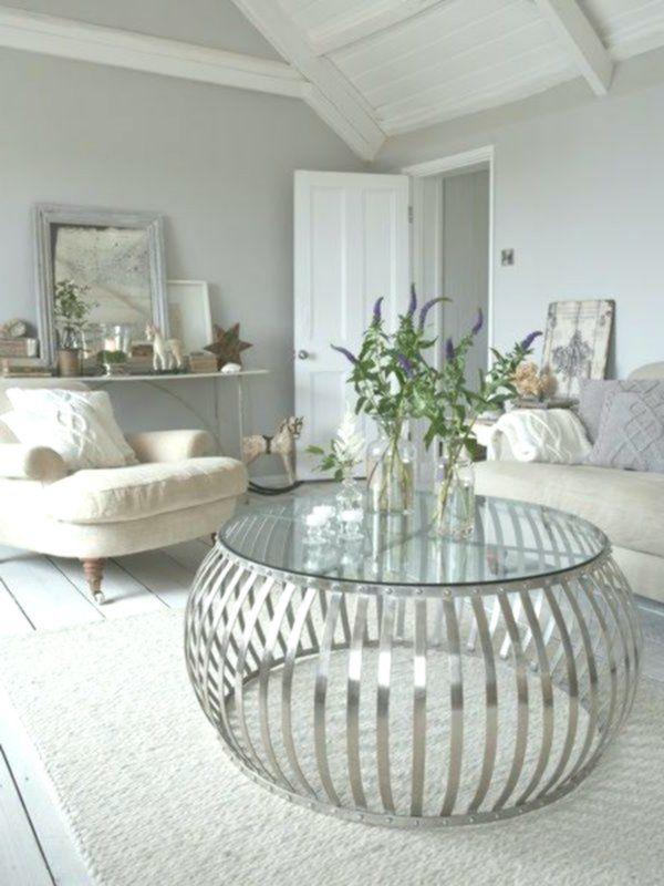 33 Couchtische Und Beistelltische In Silber Interiordecor Homeinterior Interiordecoratingstyles Newh Coffee Table Circle Coffee Tables Silver Coffee Table
