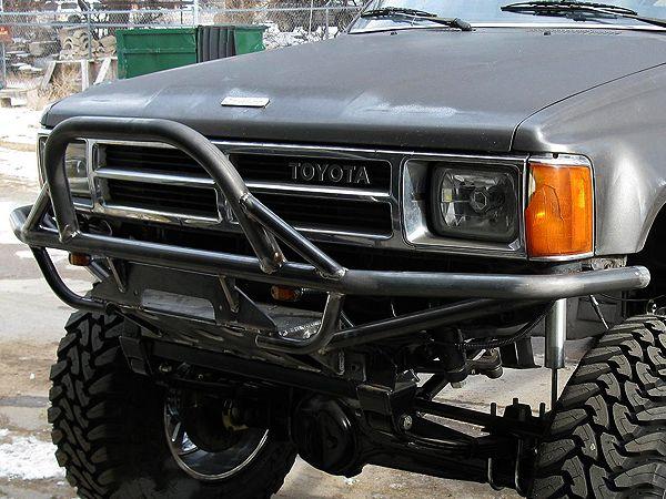 Tube Front Bumper Toyota Truck 4runner 1984 1995 4x4