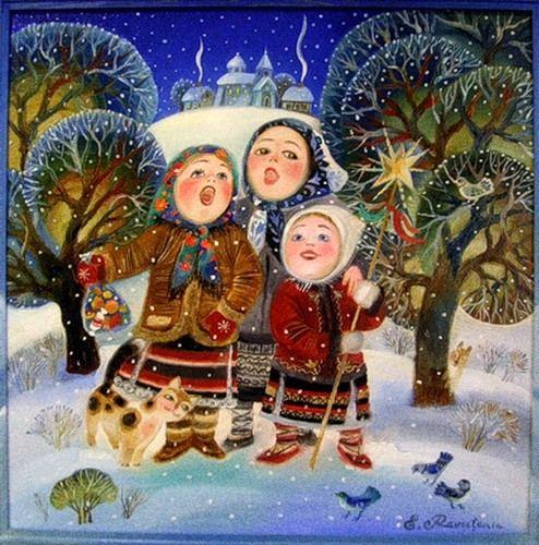 Рождественские колядки (песни) - русские и украинские слушать онлайн бесплатно