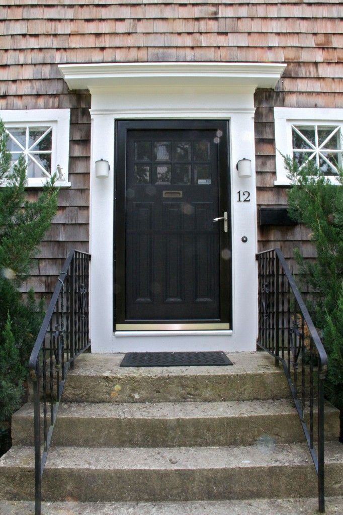 120 best images about exterior paint on pinterest how to for Entry door with storm door