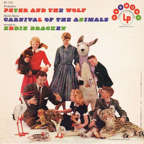 Peter and the Wolf: Eddie Bracken (Harmony)