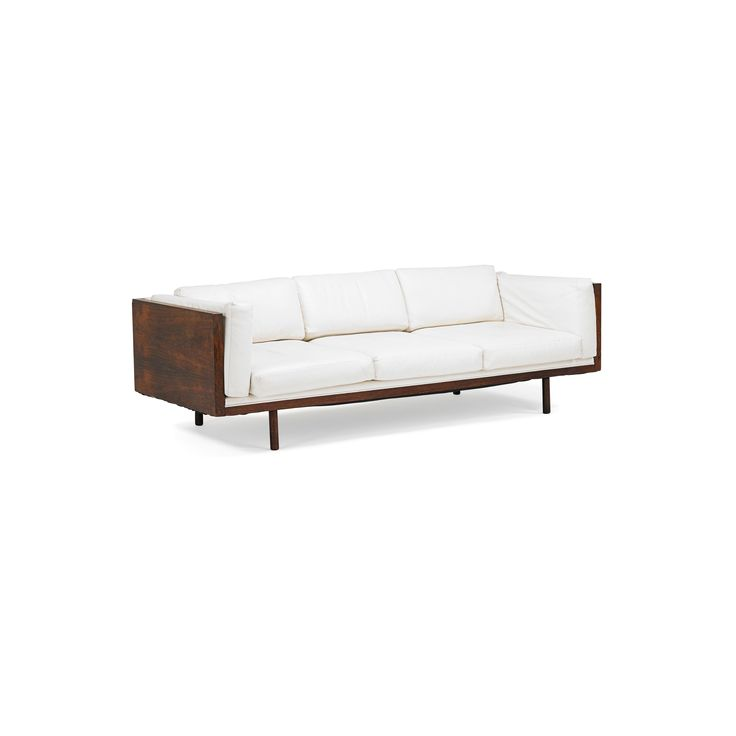 MILO BAUGHMAN Sofa | Rago Auctions