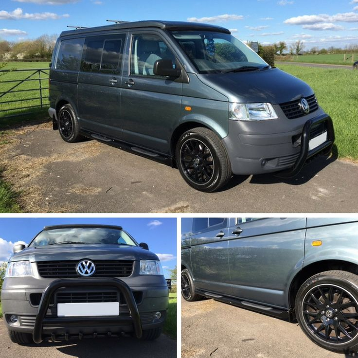 Blue skies!! Feels so long ago that we last saw the sun. What perfect weather to take the camper to the beach. This customer added black side bars and a-bar to match his wheels. Great additions we think, but we could be biased! ;-P #4x4 #Direct4x4 #T5 #Transporter #Volkswagen #VW #Caravelle #Camper #ABar #SideBars #Holidays #Adventure #Camping #Expedition #RoadTrip #HappyCustomers #GreatFeedback
