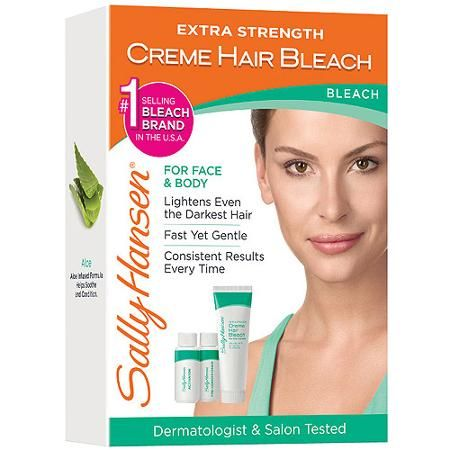 Sally Hansen Extra Strength Creme Hair Bleach For Face & Body, 1kt - Walmart.com  Need to get this for the dark hair on my arms!!