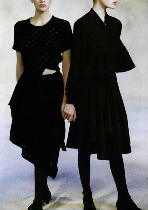 comme des garçons, 1988 • peter godry for l'officiel nº 737