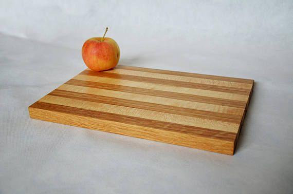 Small Cutting Board Long grain cutting board Wooden cutting
