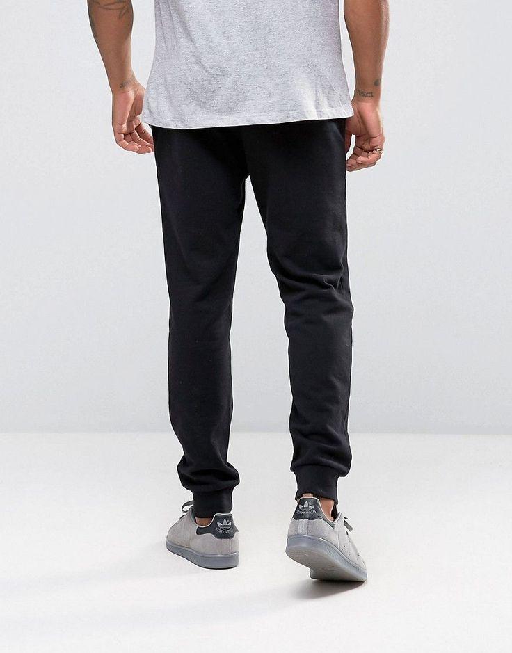 ASOS Skinny Joggers In Black - Black