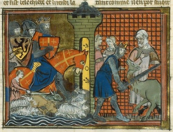 15th July 1099 – Crusaders besiege and capture Jerusalem. Godfrey of Bouillon becomes advocate of the Holy Sepulchre.