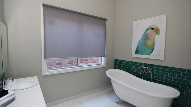 Luxaflex Roller Blinds in Aria Translucent (Tapa) from episode 8.